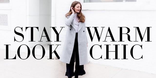 Tips για να παραμείνουμε ζεστές αλλά και stylish το χειμώνα