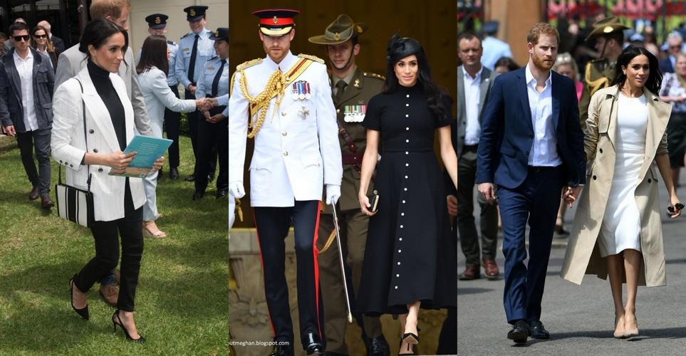 7 fashion μαθήματα που πήραμε από την πρώτη βασιλική περιοδεία της Μegan Markle