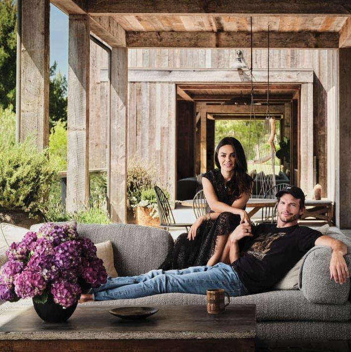Μια ματιά στην οικολογική αγροικία των Mila Kunis και Ashton Kutcher