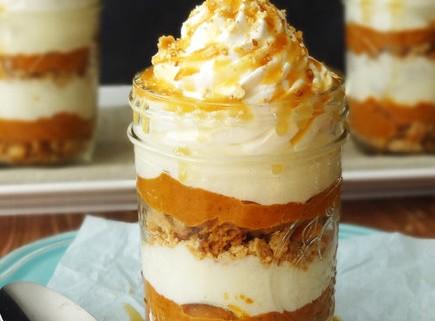 no-bake-pumpkin-pie-jar