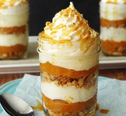 no-bake-pumpkin-pie-jar