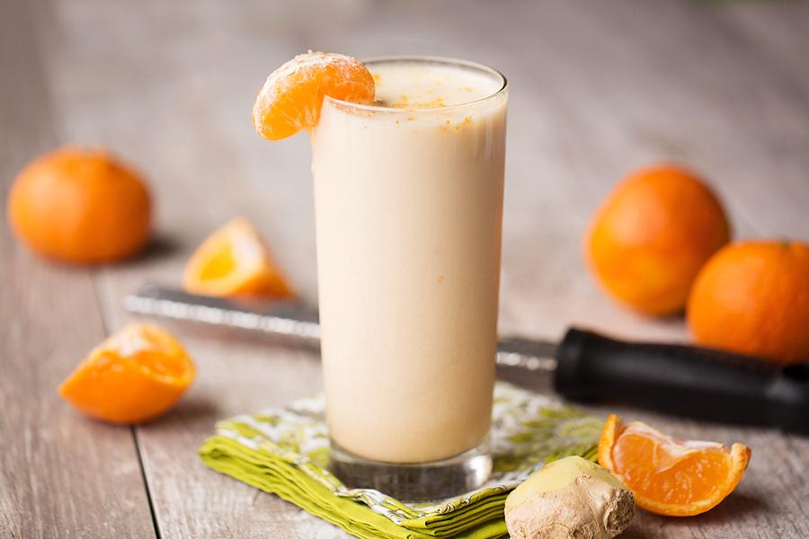 Smoothie με πορτοκάλι και μανταρίνι