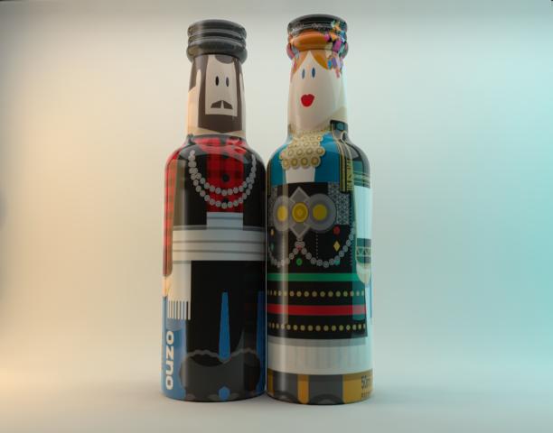 GoGreek: Το ουζο και το λαδι ντυθηκαν παραδοσιακα savoirville.gr
