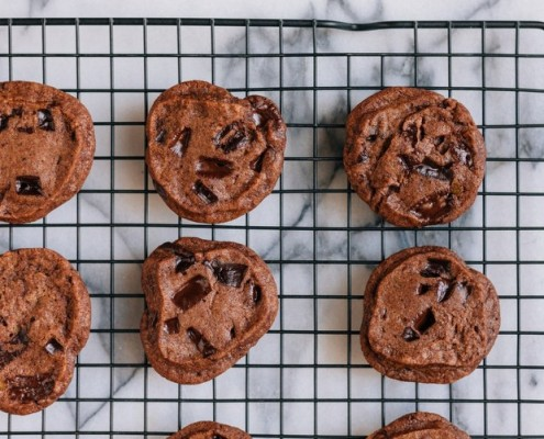 Χορτοφαγικά cookies κατάλληλα και για όσους νηστεύουν
