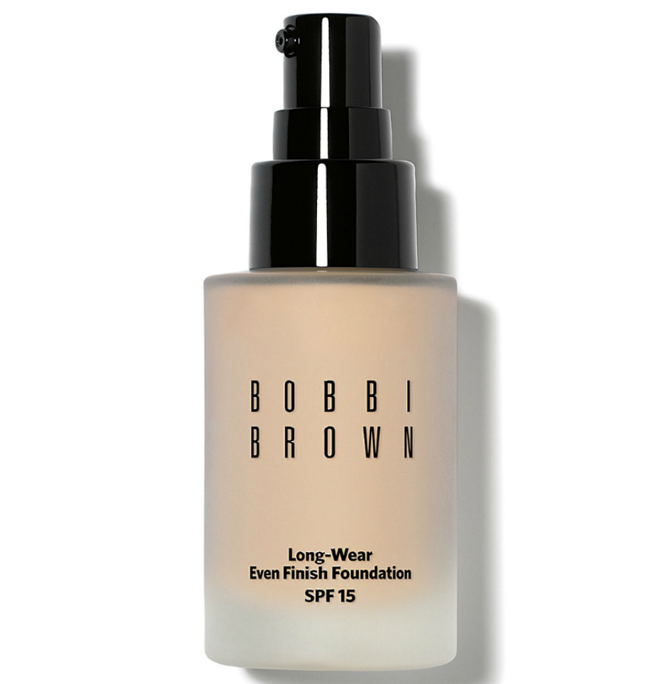 Long-wear even finish foundation SPF 15, Bobbi Brown