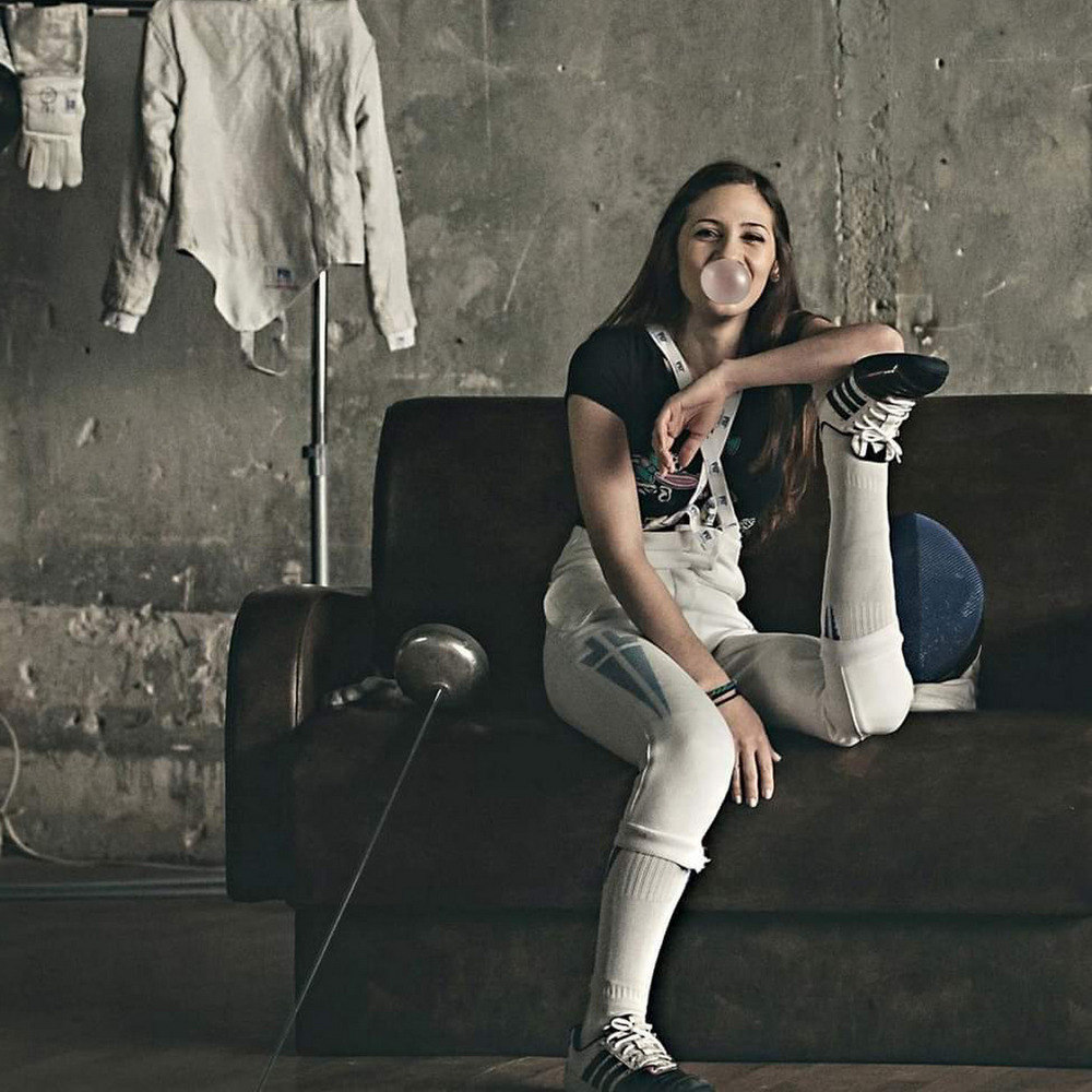 Η πρωταθλήτρια Ελλάδος στην ξιφασκία με αμαξίδιο, Έφη Βλάμη, παραδίδει μαθήματα ζωής