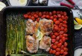 Ψητό κοτόπουλο με σκόρδο και λαχανικά
