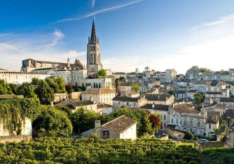 Saint-Emilion, Gironde, Bordeaux, Aquitaine, Frankreich