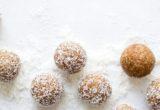 Snack ενέργειας με χουρμάδες, αμύγδαλα και καρύδα