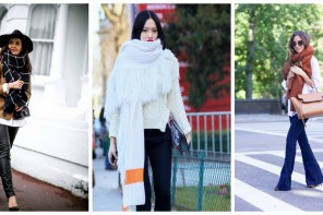 Trend Watching: Super-sized scarf