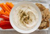 Hummus από λευκά φασόλια