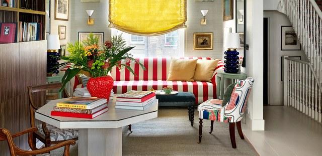 Αυτό το σπίτι στο Notting Hill είναι ο ορισμός της ''πανδαισίας χρωμάτων''