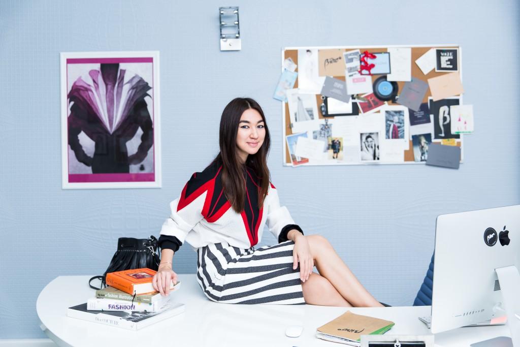 Η Meruyert Ibragim γκρεμιζει τα εμποδια των συνορων της μοδας