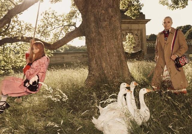 Vanessa Redgrave for Gucci Savoir Ville