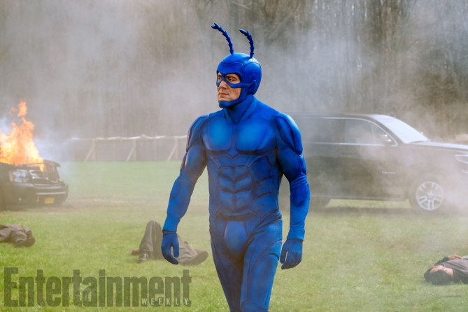 The Tick Season 1, Episode 5 Air Date: 8/25/17 PIctured: Peter Serafinowicz
