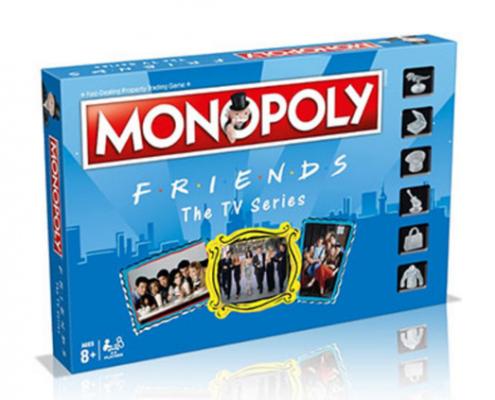 Κι όμως υπάρχει Friends Version της Monopoly