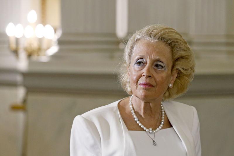 La présidente de la Cour suprême grecque, Vassiliki Thanou, a été nommé jeudi Premier ministre par intérim pour diriger le pays jusqu'aux élections législatives anticipées le mois prochain, après la démission d'Alexis Tsipras. /Photo prise le 27 août 2015/REUTERS/Alkis Konstantinidis