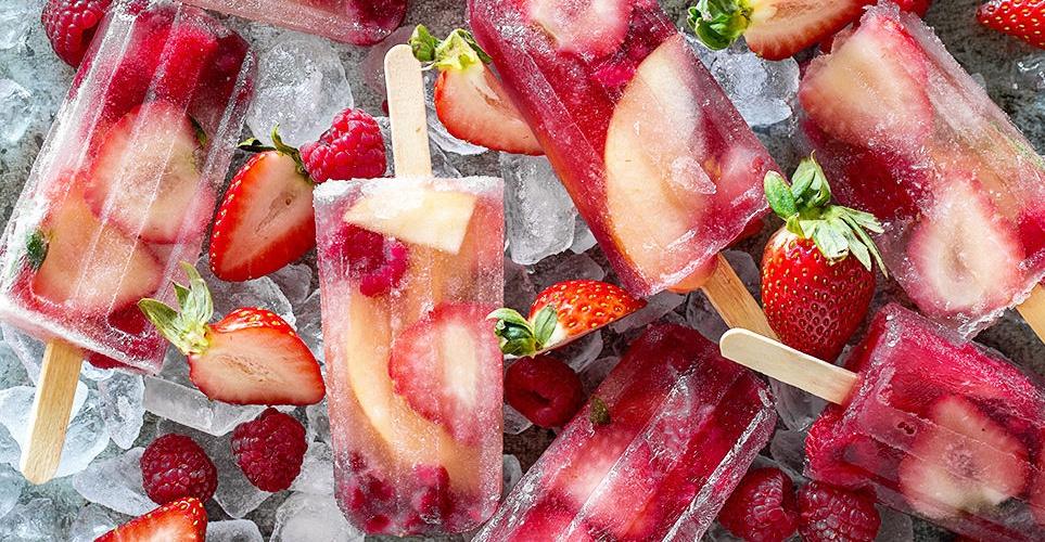 Αυτά τα ice pops θα σου φτιάξουν τη διάθεση