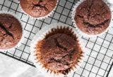Συνταγή για muffins σοκολάτας-μπανάνας